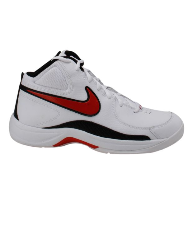 3ab10804bb05 Nike The Overplay VII White Basketball Shoes - Buy Nike The Overplay VII  White Basketball Shoes Online at Best Prices in India on Snapdeal