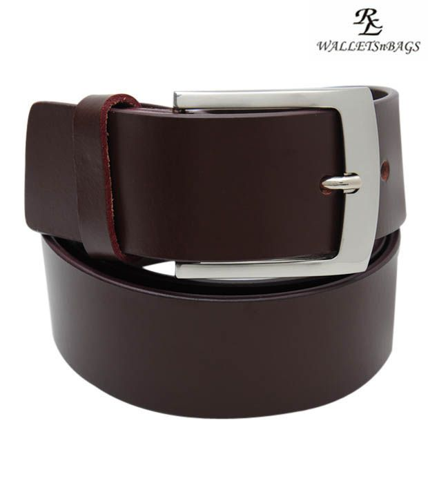 WalletsnBags Classy Brown Belt