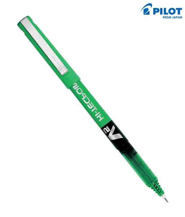 Pilot Hitec V-5 Pen Green (Set Of 2 Pcs)