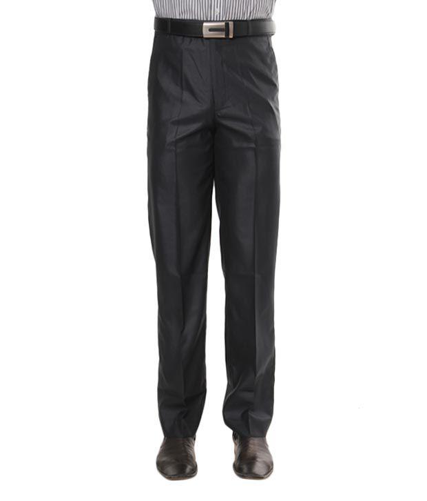 Viggo Black Spanish Wool Trouser