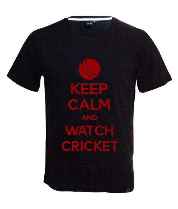 Rigo Black Keep Calm T-shirt