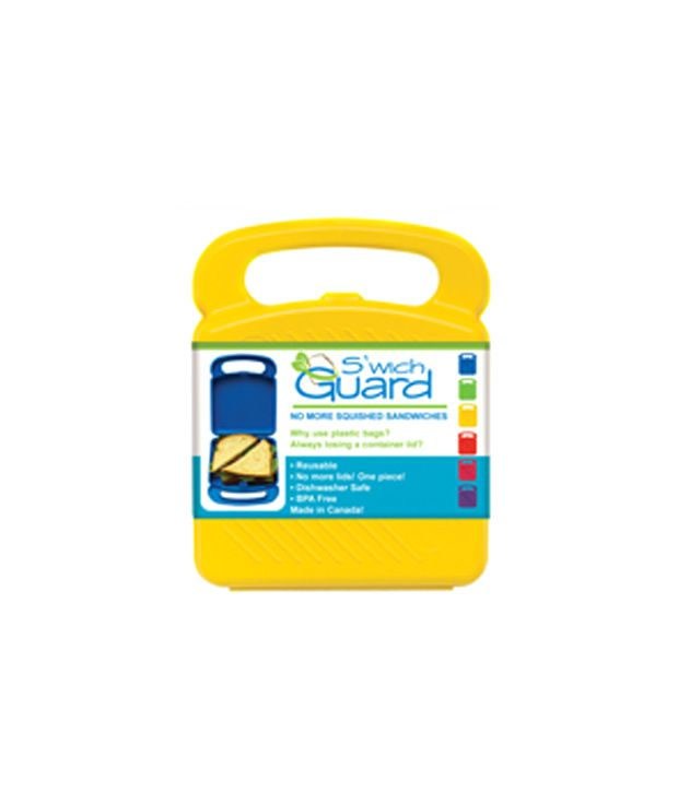 Primeway Silo Lunch Box-Sandwich Guard Container -Yellow