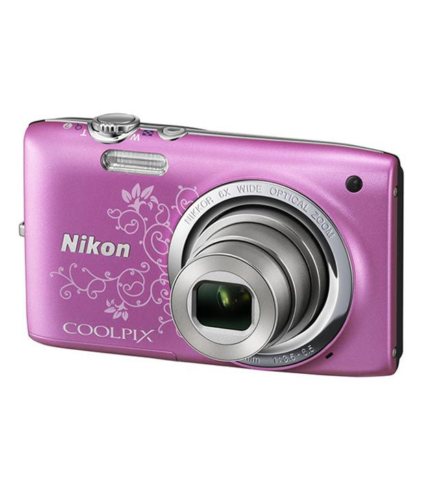 Nikon Coolpix S2700 16MP Digital Camera (Decorative Pink