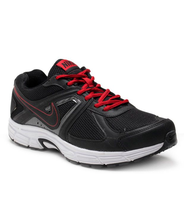 f12ad30298a54 Nike Tough Black & Red Sports Shoes - Buy Nike Tough Black & Red Sports  Shoes Online at Best Prices in India on Snapdeal