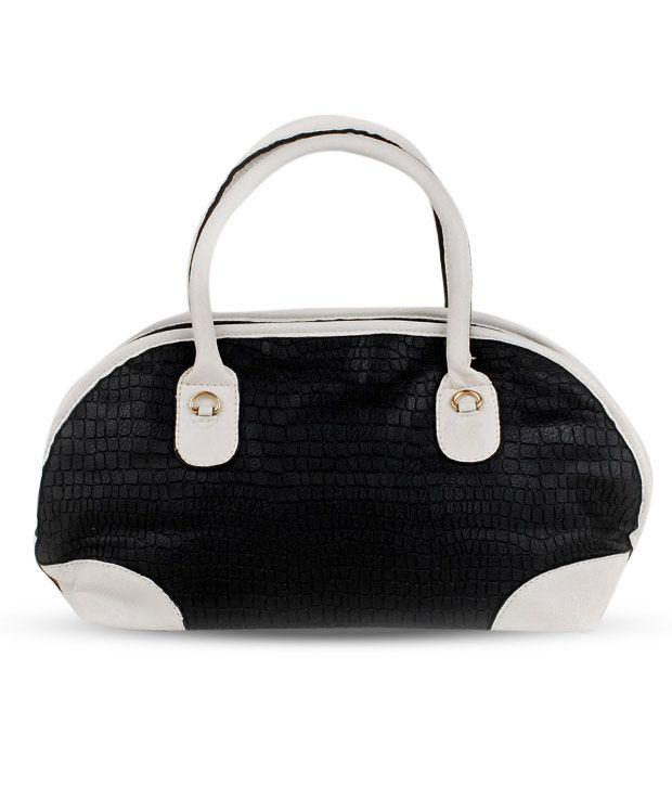 Done By None Scintillating Black Handbag