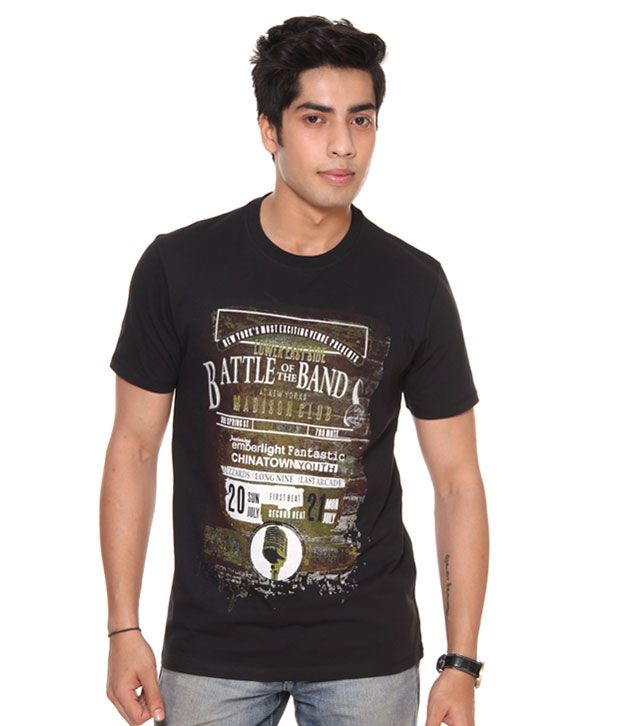 Raves Black T-Shirt