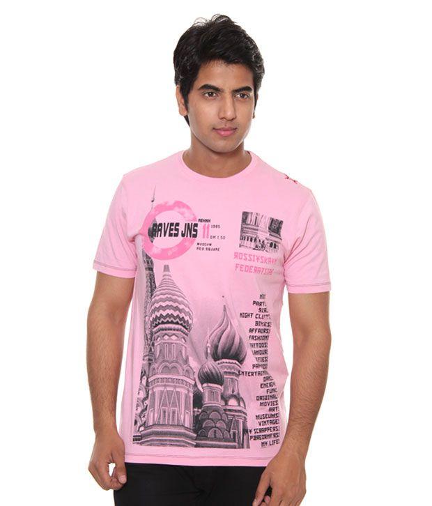Raves Pink Men's T-Shirt