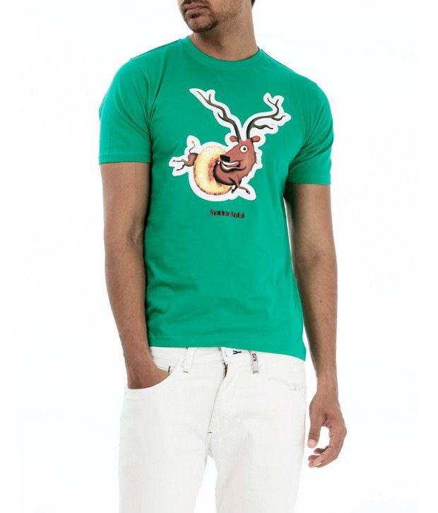 Basics 029 Green T-Shirts