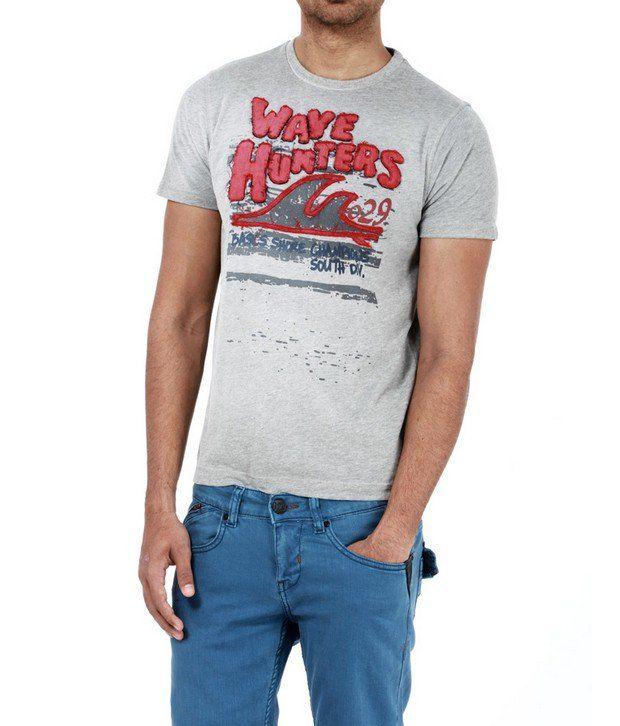 Basics 029 Grey T-Shirts