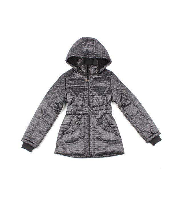 Fort Collins Dark Grey Girls' Jacket For Kids