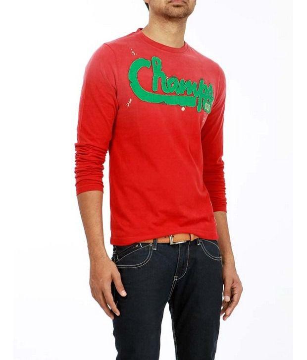 Basics 029 Red T-Shirts