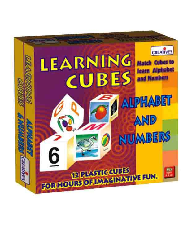Creatives Learning Cubes Alphabet & Number