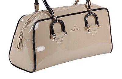 Rafael Shiny Leather Bag