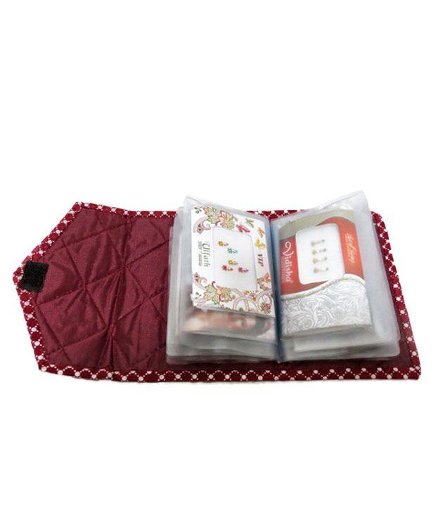 A-Maze Aesthetical Maroon Bindi Case