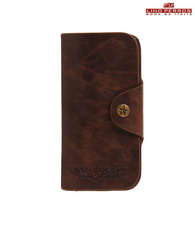 Lino Perros Smart Brown Wallet