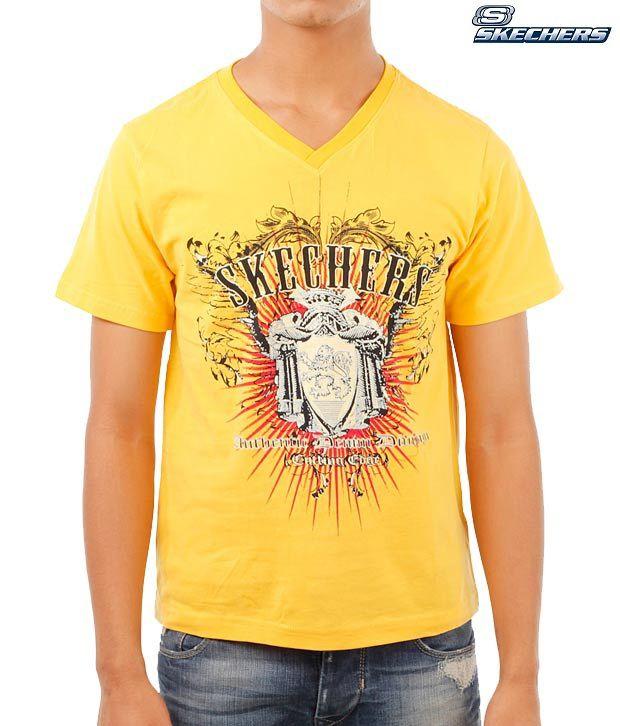 Skechers Yellow T-Shirt