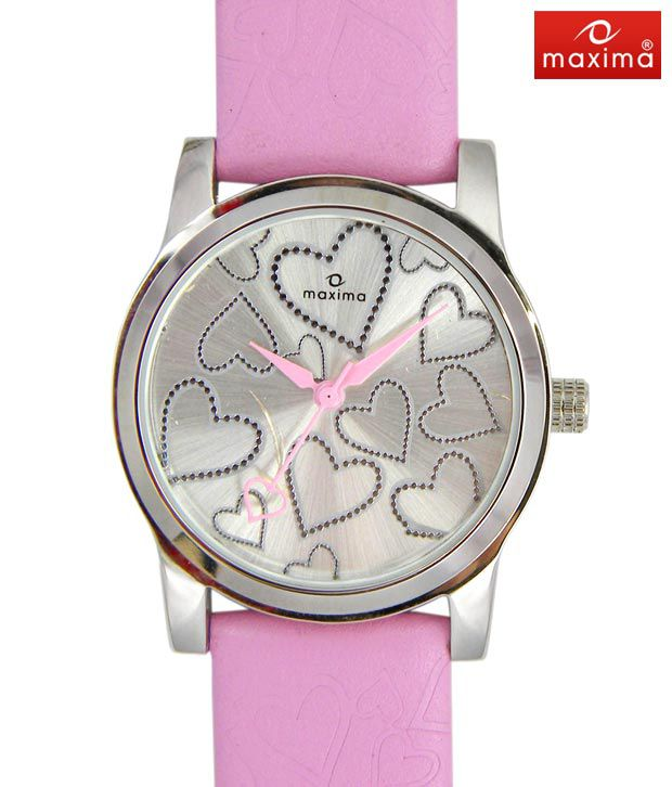 Maxima Pink Love Watch-PA-E-23348LMLIF