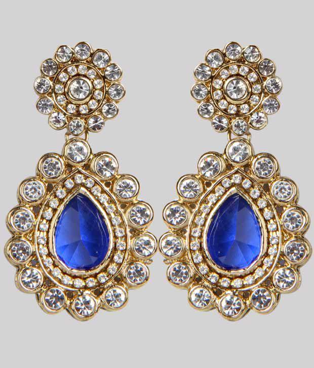 29380358b Agastya Royal Blue Earrings - Buy Agastya Royal Blue Earrings Online at Best  Prices in India on Snapdeal