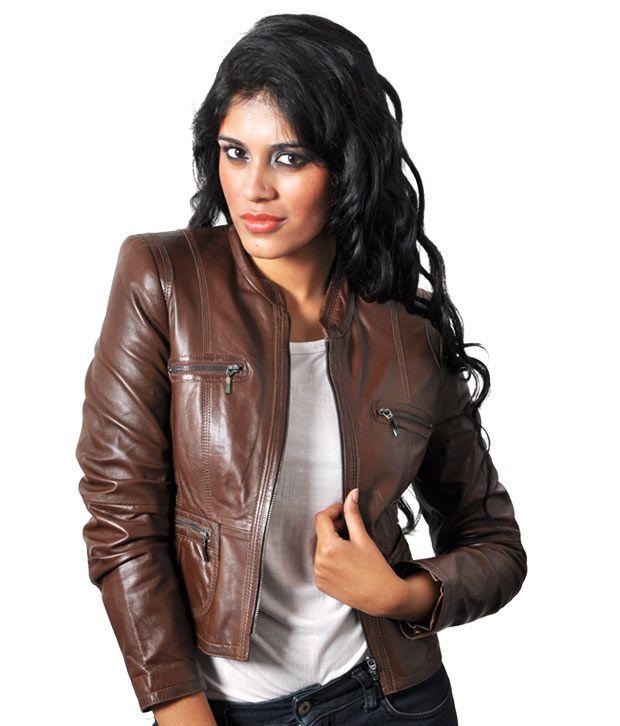 Woman Leather Jacket - Jacket