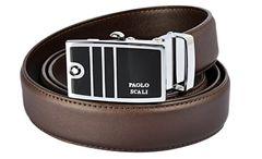 Paoloscali Stylish Brown Belt