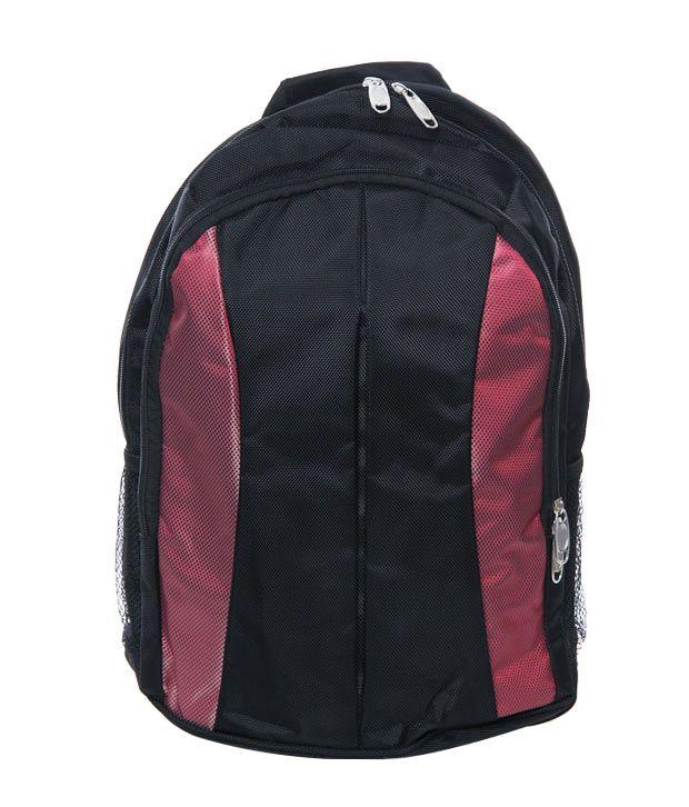 Ananta Black Red Backpack