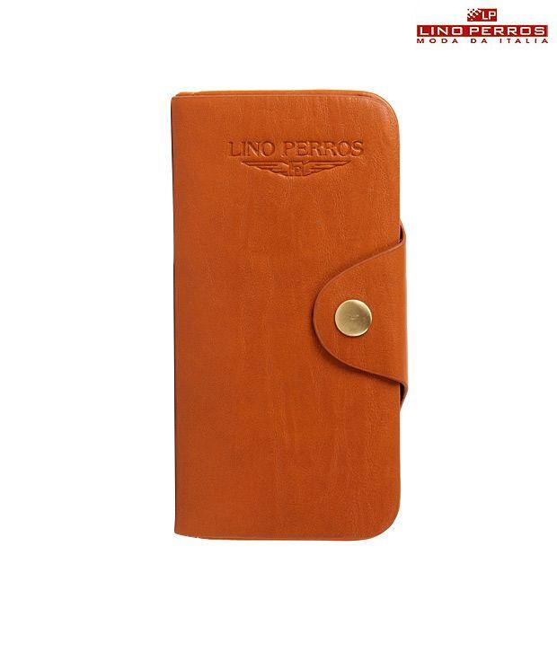 Lino Perros Tan Wallet