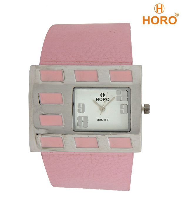 Horo Subtle Pink Dial Watch