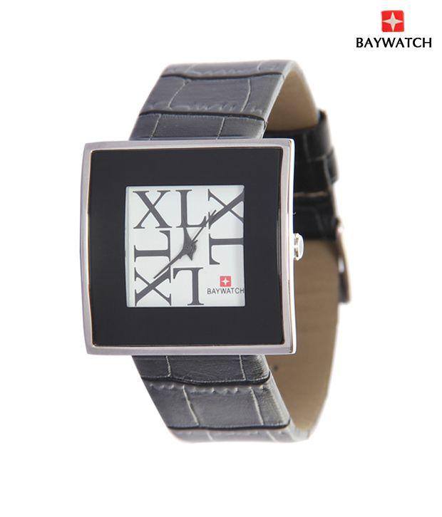 Baywatch Elegant Black Watch