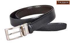 Tie Rack Reversible Strap Belt