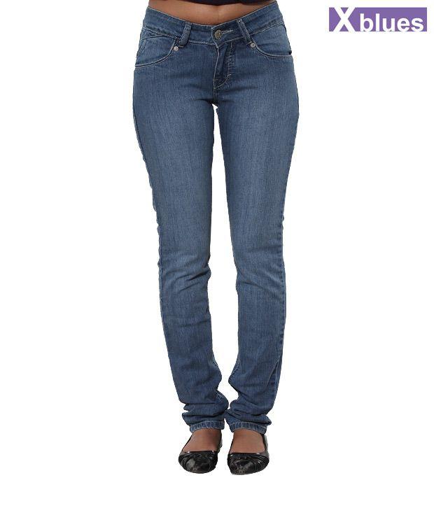 X-Blues Blue Denim Jeans