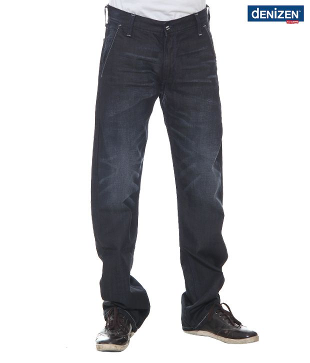 Denizen Regular Fit Dark Blue Jeans (33268-0002)