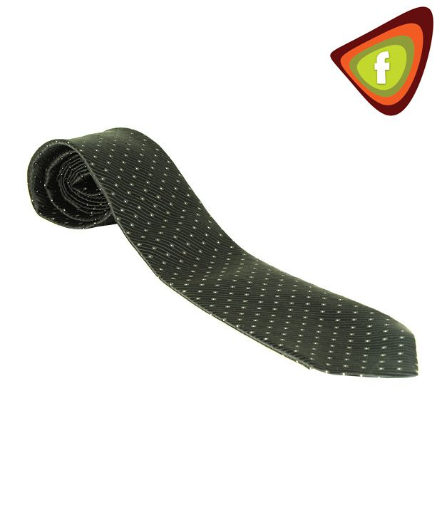 F-Ties Glossy Black Tie