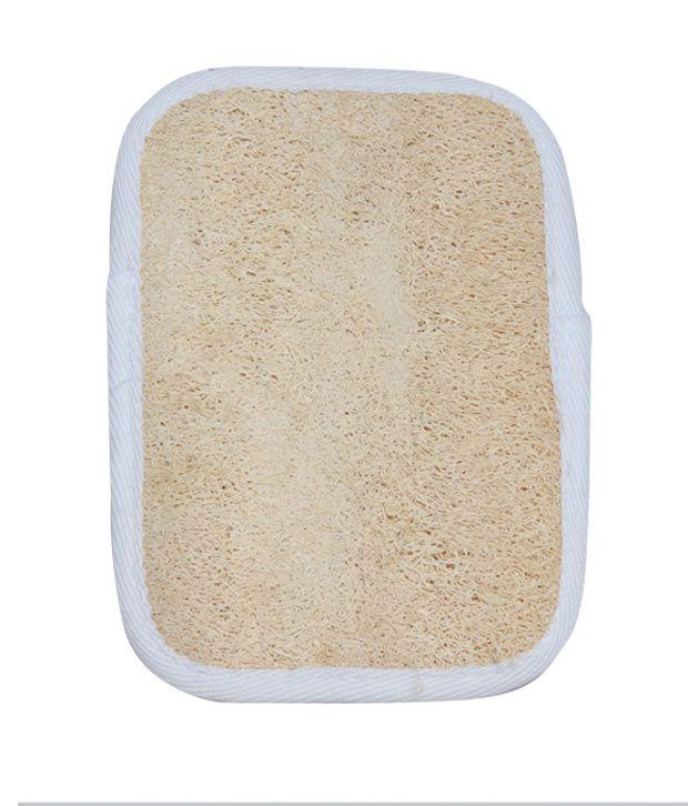 Bare Essentials Ablong Loofah Pad