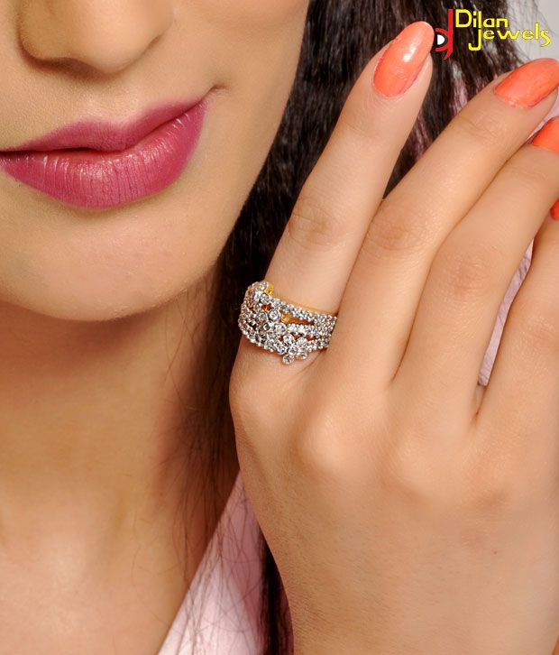 Dilan Lovely American Diamond Ring