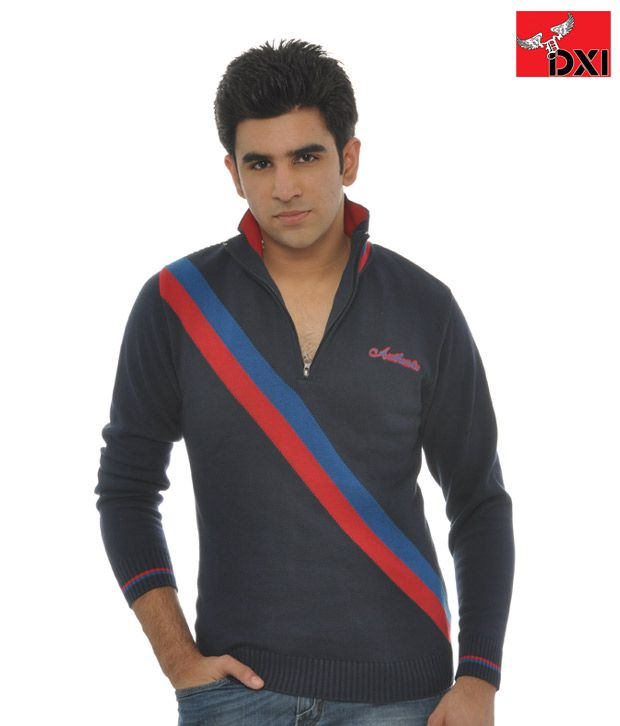 DXI Sweatshirt  For Men- X1255- Blue