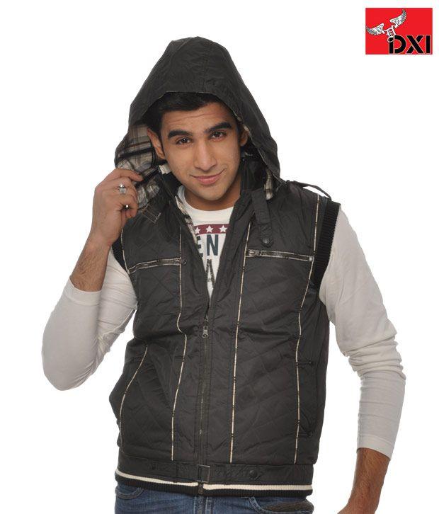 DXI Winter Wear Jacket For Men- X1903 Black