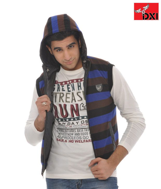 DXI Winter Wear Jacket For Men- X1922 Bronze