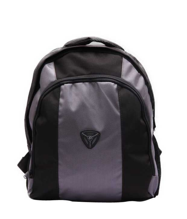 President Stunning Grey Black Backpack