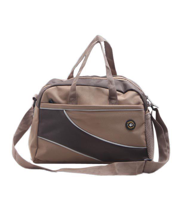 President Coffee Brown gear Gym Bag