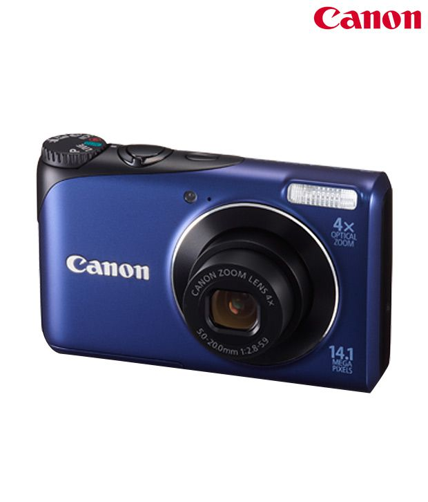 Canon Powershot A2200 14MP Digital Camera (Blue)