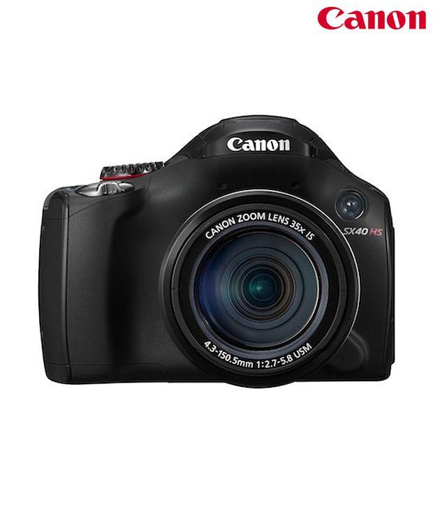 Canon Powershot SX40 12MP Semi-SLR