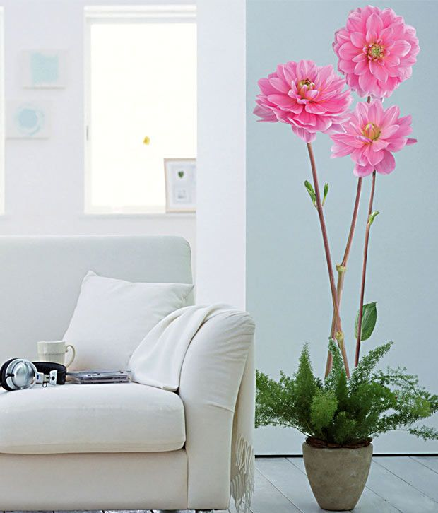 Plage Beautiful Dahlia Wall Sticker