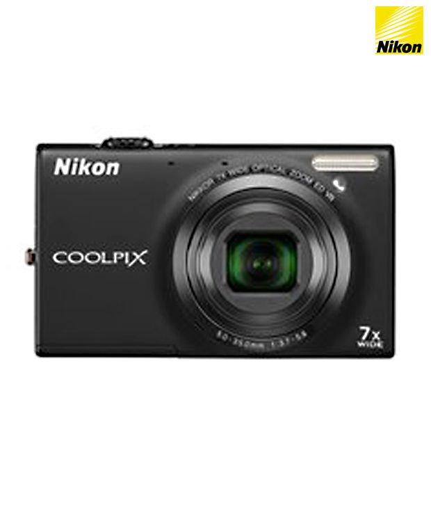 Nikon Coolpix S6150 16MP Digital Camera