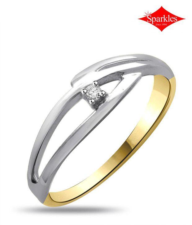 Sparkles Stylish Diamond Ring