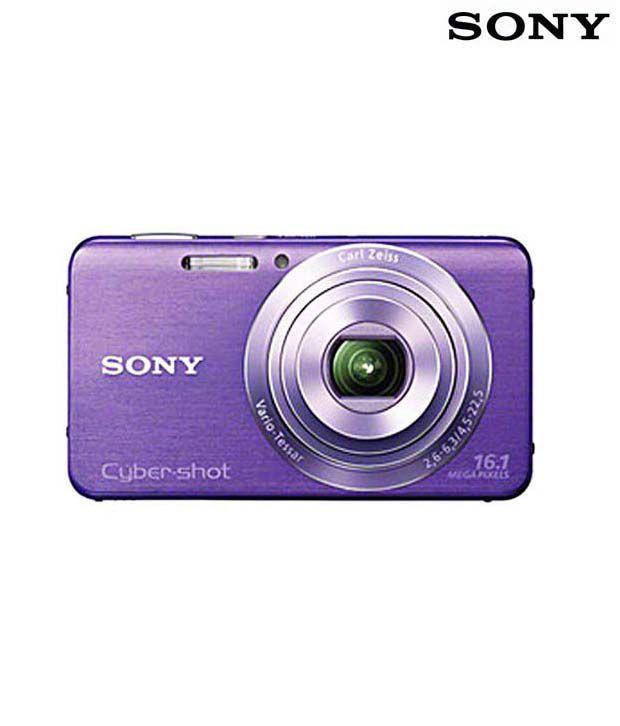 Sony Cybershot W630 16.1MP Digital Camera (Violet)