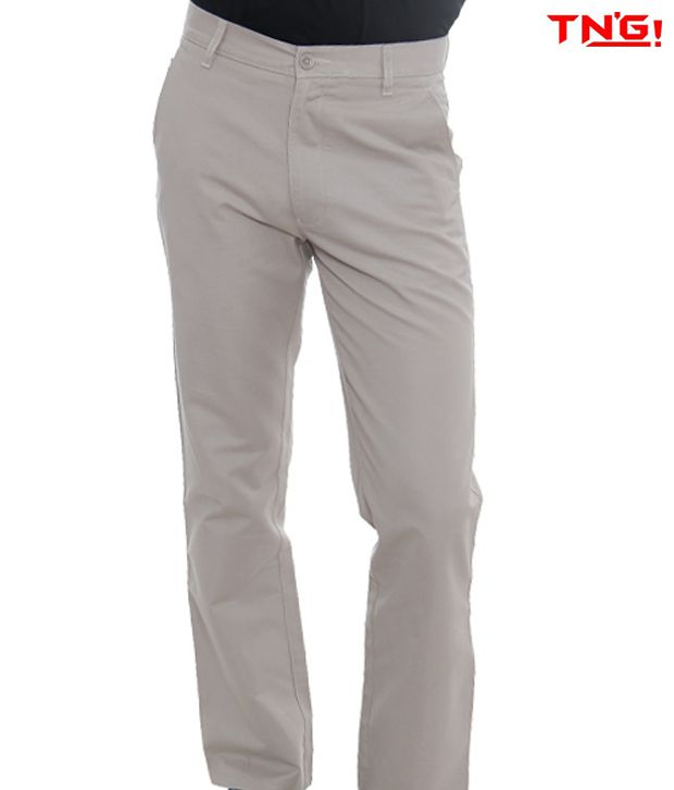 TN'G Ivory Trousers-TJGN-TJGN-7774-IV
