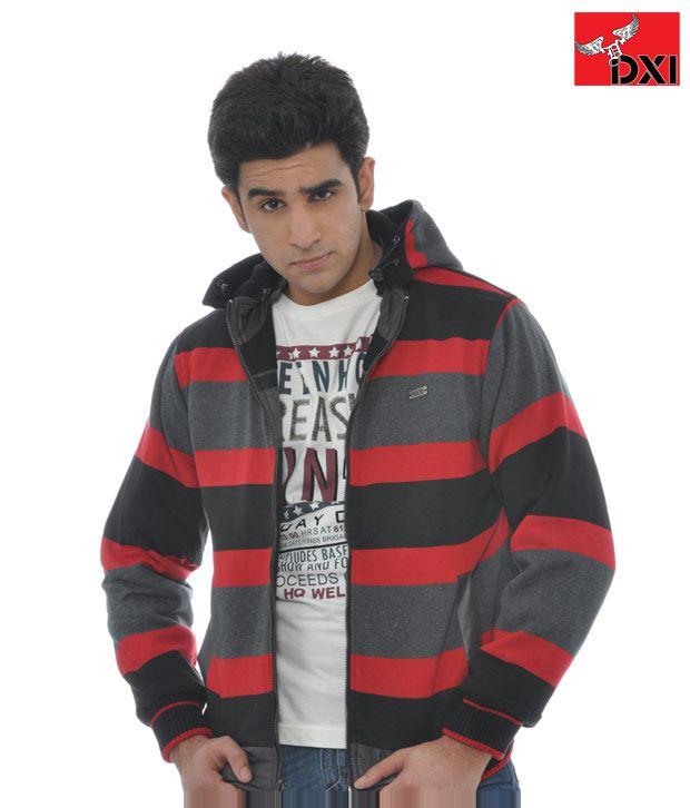 DXI Winter Wear Jacket For Men- X1817 Black