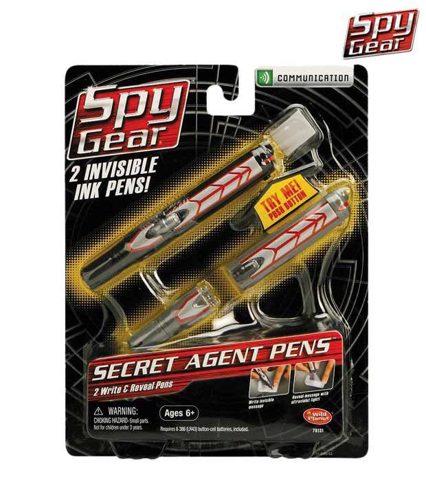 Spy Gear Secret Agen Pen - 2 Pack
