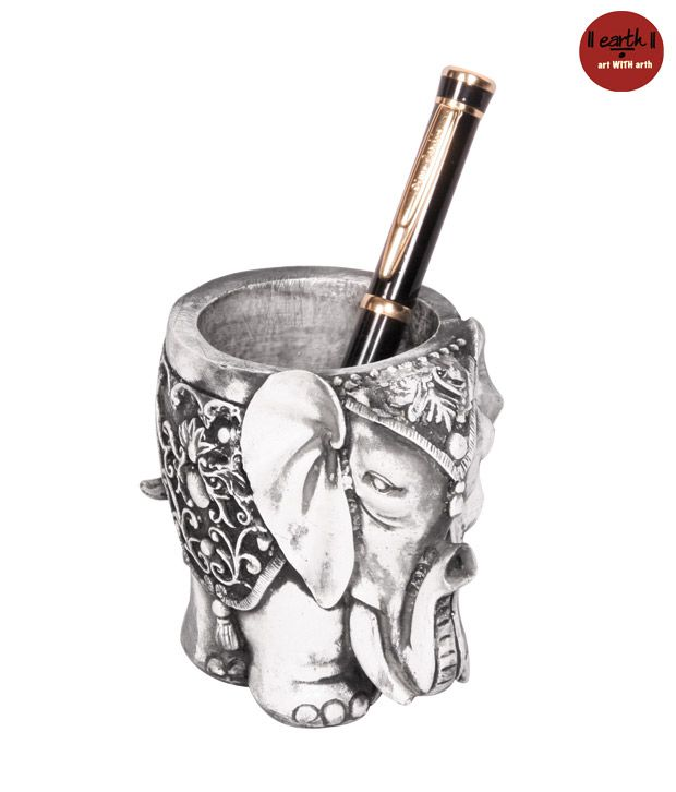 Earth Elephant Pen Stand