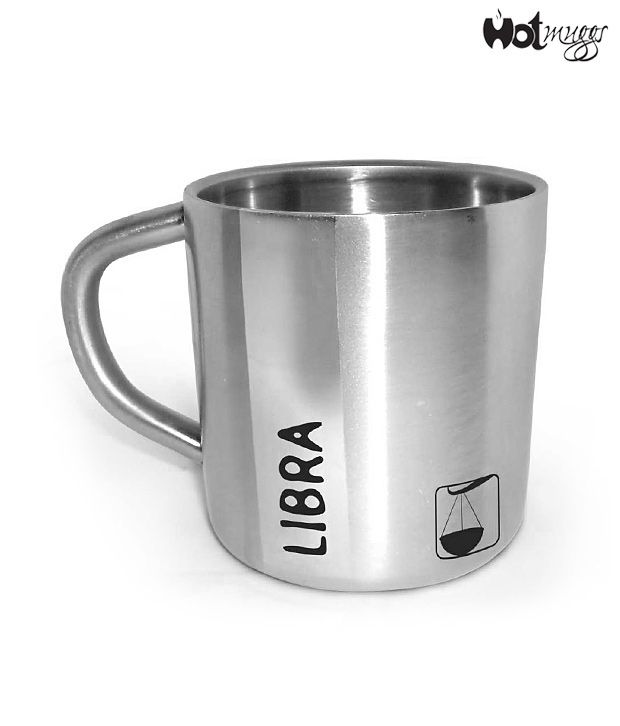 HotMuggs Libra Double Walled Stainless Steel Mug